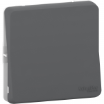 Mureva Styl - intermediate switch - flush & surface mounting - grey