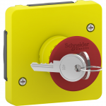 Mureva Styl - emergency switch - key to release - grey