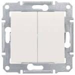 Сериен ключ 10 A – 250 V AC, Крема