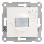 Детектор на движение10 A - 230 V AC с времезакъснение и регулиране според нивото на околната осветеност, Крема
