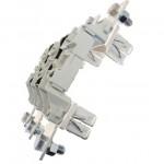 Основа за стопяем предпазител, LV, 630 A, AC 690 V, NH3, 3P, IEC, монтаж на DIN шина