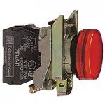 Контролна лампа 24 V AC/DC, червена