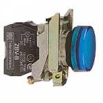 Контролна лампа 110 -120 V AC, синя