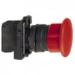 Пусков бутон (1 N/O) без маркировка, черен