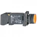 Пусков светещ бутон (1 N/O +1  N/C) BA 9s 110-120 V AC, оранжев