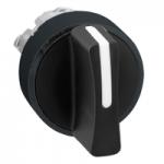 Черна стандартна метална дръжка, възвръщаема пружина до центъра, 3 позиции +/- 45°