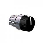 Черна назъбена глава, възвръщаема пружина до центъра, 3 позиции +/- 45°