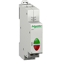 Acti9 iIL светлинен индикатор, двоен 110-230 V AC, Зелен/Червен