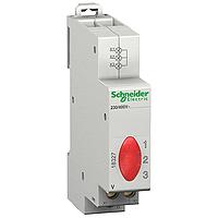 Acti9 iIL Три-фазен светлинен индикатор за наличие на напрежение 230-400 V AC, Червен