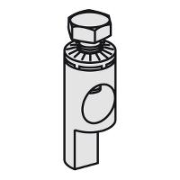 Накрайник за задно  свързване (с 1P C120  капак за винтове) (комплект от 2)