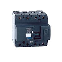 Миниатюрен автоматичен прекъсвач NG125N, 4P, 32A, C, 25kA