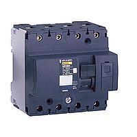 Миниатюрен автоматичен прекъсвач NG125N, 4P, 125A, C, 25kA