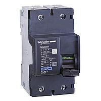 Миниатюрен автоматичен прекъсвач NG125H, 2P, 32A, C, 36kA