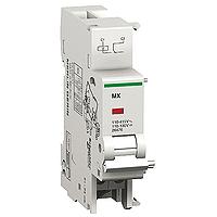 Независим работен изключвател MX + OF, 24 V AC/DC