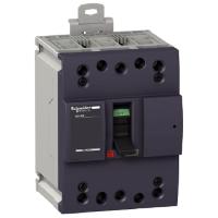 Миниатюрен автоматичен прекъсвач NG160E, 3P, 80A, 16kA