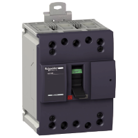 Миниатюрен автоматичен прекъсвач NG160N, 3P, 100A, 25kA