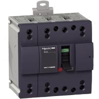Миниатюрен автоматичен прекъсвач NG160N, 4P, 160A, 25kA