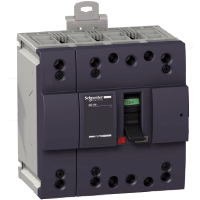 Миниатюрен автоматичен прекъсвач NG160N, 4P, 100A, 25kA