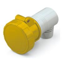 Конектор EUREKA IP66/IP67, 100-130 V ,32 A, 2+E, 4 h