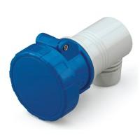 Конектор EUREKA IP66/IP67, 200-250 V ,32 A, 2+E, 6 h