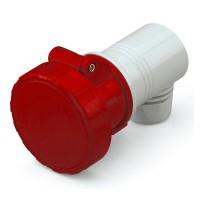 Конектор EUREKA IP66/IP67, 380-440 V ,32 A, 3+E, 3 h