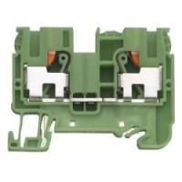 Заземителна клема WTP 6/10 PE, 10 mm², Жълто-зелена