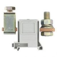 Силова проходна клема RFK 1 / 95 FMK S35/V0, 95 mm²,връзка проходна клема-обърнат болт, Сива