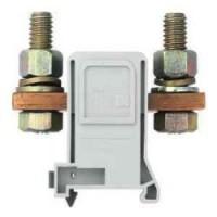 Силова проходна клема RFK 1 / 185 FM S35/V0, 185 mm²,връзка обърнат болт-обърнат болт, Сива