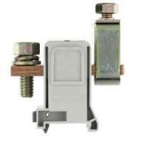 Силова проходна клема RFK 1 / 240 FK S35/V0, 240 mm²,връзка болт-проходна клема, Сива