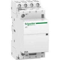 Модулен контактор iCT 4 N/O, 24 V AC, 25 A
