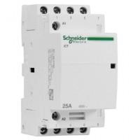 Модулен контактор iCT 4 N/O, 220/240 V AC, 25 A