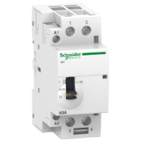 Модулен контактор iCT, ръчно управление 2 N/O, 24 V, 63 A