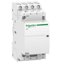 Модулен контактор iCT 4 N/O, 220/240 V AC, 20 A