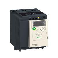 ATV12 Честотен регулатор 200 – 240 V, 10 A, 2.2 kW, 1 phase, On base plate