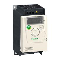ATV12 Честотен регулатор 200 – 240 V, 2.4 A, 0.37 kW, 1 phase, On base plate