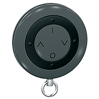 "Дистанционно управление ""Ключодържател"", 4 бутона, Тъмно сив"