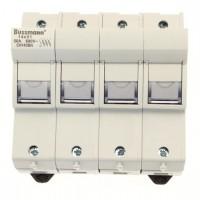 Държач за стопяем предпазител LV, 50 A, AC 690 V, 14 x 51 mm, 3P+N, IEC, индикиращ