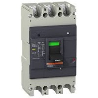 Автоматичен прекъсвач с лят корпус EasyPact, 36 kA, 250 A, 3P, Термо-магнитна защита
