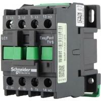 Контактор EasyPact TVS, 3P с (1 N/C) допълнителни контакти, 24V AC 50 Hz, 9A
