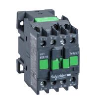 Контактор EasyPact TVS, 3P с (1 N/O) допълнителни контакти, 110V AC  50 Hz, 9A