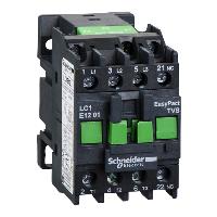 Контактор EasyPact TVS, 3P с (1 N/C) допълнителни контакти, 48V AC 50 Hz, 12A