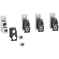 Алуминиеви накрайници за 2 кабела (комплект от 4 бр.)