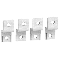 Double-L terminal extensions, set of 4