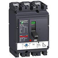 Автоматичен прекъсвач, лят корпус NSX100 Термо-магнитна защита, 100 A, 3P/3d, F