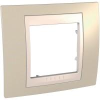 Единична рамка Unica Plus, Светло бежов/Слонова кост