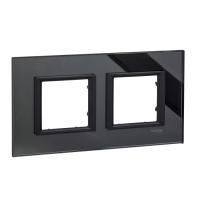 Двойна рамка Unica Class, Черно огледало