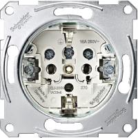 Механизъм на контактен излаз Шуко
