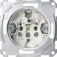 Механизъм за контактен излаз със заземителен щифт