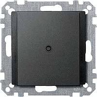 Капак с кабелен излаз за телефонен конектор VDo 4, Антрацит