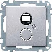 Носеща декоративна рамка с капачка за механизми в съответствие с DIN 41524, Алуминий